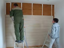 lambris mural chambre chambre lambris pvc mobilier décoration