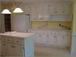 Spraying Kitchen Cabinets Simple Painted White Cabinets Kitchen Top To Ideas Captivating