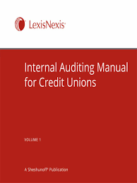 internal auditing manual for credit unions lexisnexis store
