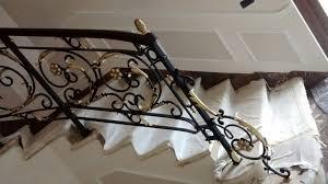 ringhiera per scala ringhiera per scala interna in villa ferreria d arte iron luxury
