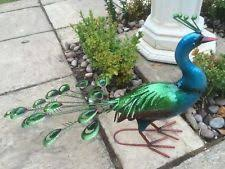 peacock garden ornament ebay