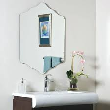 Decorating Ideas For Bathroom Mirrors Bathroom Mirror Ideas On Wall Medium Size Of Mirror Ideas