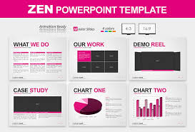 annual report ppt template clean powerpoint template work business design
