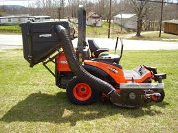 kubota zd326s diesel zero turn mower with bagger grass ideas