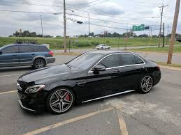 bagged mercedes cls first and only bagged c63s sedan mbworld org forums