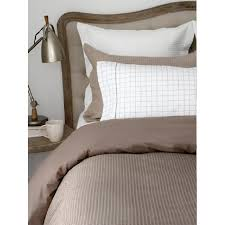 Taupe Duvet Weave Duvet Cover By Cuddle Down