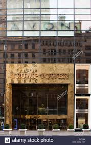 the entrance to the trump tower new york city at 725 5th avenue