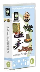 cricut autumn celebrations cartridge