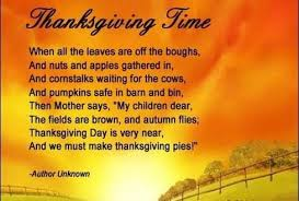 thanksgiving prayers poem thanksgiving blessings