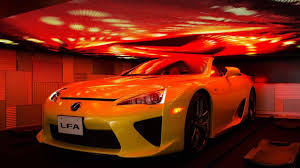 lfa lexus red lexus lfa roadster makes a surprise appearance in tokyo