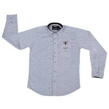 white colored boys full sleeve shirt teens kids baby clothes