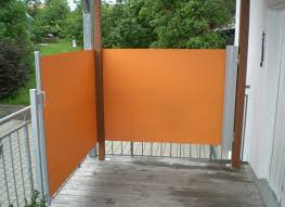 seitenmarkise balkon der vorteil side seitenmarkise balkon ohne bohren weegarden
