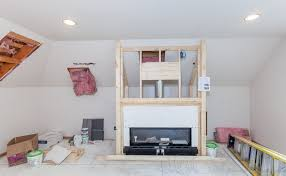 fireplace storage and usable space