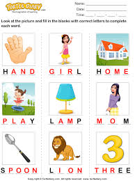 complete the words with missing letters worksheet turtle diary