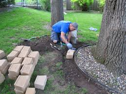 Landscaping Ideas Around Trees Pictures by Be Careful Not To Cut Into Ground Around Tree Can Put Concrete In