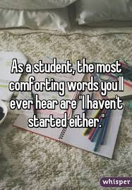 Other Words For Comforting As A Student The Most Comforting Words You U0027ll Ever Hear Are