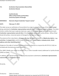 letter of transmittal example template free download speedy