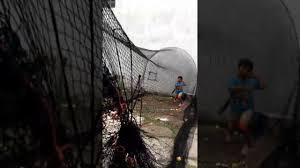 batting practice with basehit pitching machine youtube