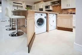 laundry in kitchen design ideas inspiring kitchen design with washing machine contemporary best