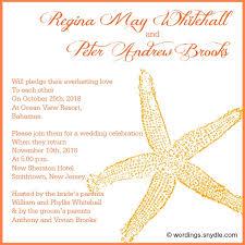 wedding invitations wording sles exles of spiritual wedding invitations style by modernstork