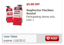 How Much Does It Cost To Rent Rug Doctor Rug Doctor 10 Off Rental U0026 Free Cleaner At Safeway With Coupon