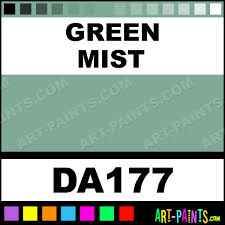 green mist americana acrylic paints da177 green mist paint