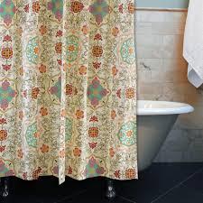 Threshold Medallion Shower Curtain by Shower Curtains Beige Shower Curtains Pictures Of Curtains