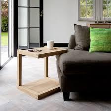ethnicraft canapé bout de canapé chêne massif frame sofa ethnicraft mise en scène