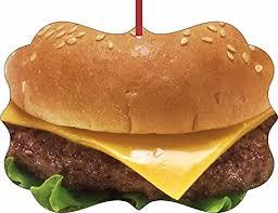 cheeseburger rosie inc tm sided flat