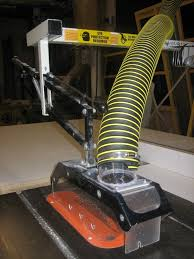 table saw vacuum dust collector dust collector blade guard retrofit ideas