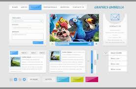 psd website ui design template u2013 designscanyon