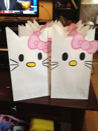 hello gift bags loot bags theme and party ideas