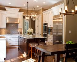 Taupe Cabinets Taupe Kitchen Cabinets Contemporary With Pendant Lighting Single