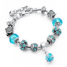 bracelet styles with beads images Crystal beads fit pandora bracelet gold jewelry diy pulseiras jpg