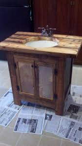 Barn Board Bathroom Vanity Pine Bathroom Furniture Foter