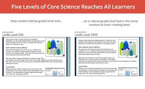 next generation science escience solutions achieve3000