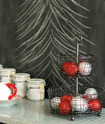 chalkboard kitchen wall ideas christmas in the kitchen