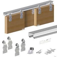 diy barn door track system sliding cabinet door track system u2022 sliding doors design