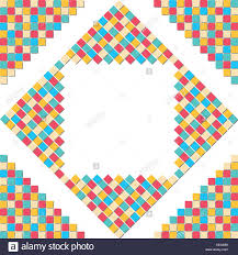 square mosaic vector background corner design stock vector 522262801 shutterstock colorful mosaic square block pattern in the corner for abstract