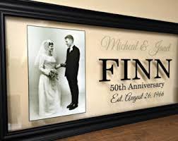 50th wedding anniversary gift 50th anniversary gifts etsy
