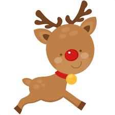 christmas reindeer christmas reindeer scrapbook cut file clipart files for