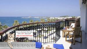 annabelle hotel paphos cyprus best price guarantee youtube