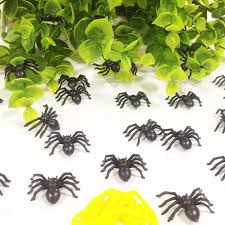halloween bags wholesale best bag simulation small black fake spider halloween party