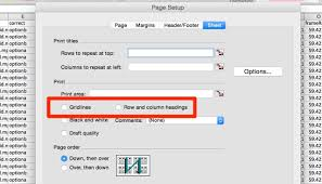 how to print an excel spreadsheet on one single page