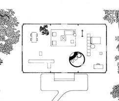 philip johnson glass house floor plan architecture pinterest