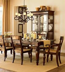Log Dining Room Table Pottery Barn Style Dining Rooms Barn Style Dining Room Table