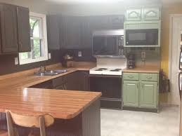 Remodelaholic DIY Refinished And Painted Cabinet Reviews - Diy painted kitchen cabinets