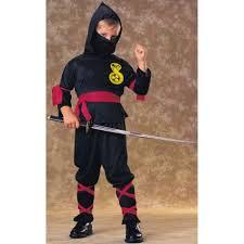 samurai halloween costume ninja kids costume black 881900
