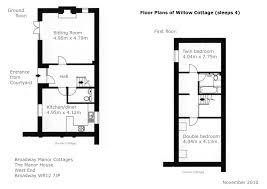 olympics much wenlock broadway manor cottages willow cottage access statement floor plans