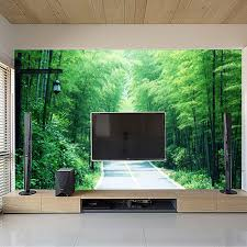 Wallpaper Livingroom by Aliexpress Com Buy Chinese Styles Moderm Bamboo Wallpaper